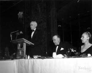 Walter Daspit, Vulcan's Treasurer and Myrtle Warrington's brother.
