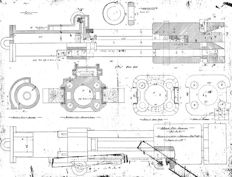 2-Steam-Pile-Hammer-1887