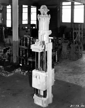 The Vulcan #1 hammer at the North Bell Avenue facility
