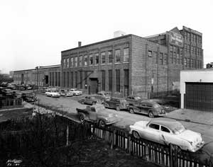 Shown below is the facility, from the street. This photo was taken in 1952, the same year as the centennial celebration.