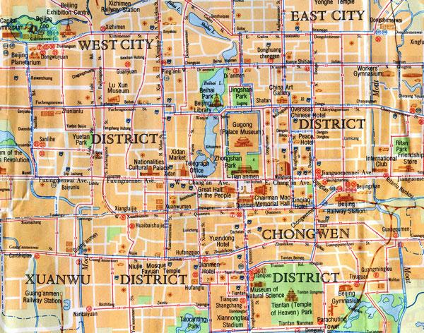 Beijing-Map
