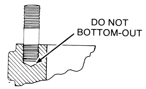 Bottoming-Out-Stud