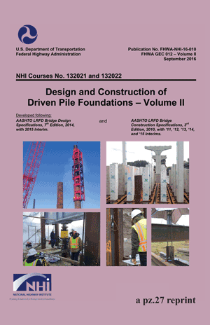 Driven Pile Manual 1b