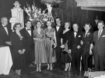 The Warrington family and relatives. From left to right: Walter and Henrietta Daspit, Pembroke and Dorothy Grove, Vernell and Henry Warrington, Myrtle and Chester Warrington, and Barbara and Richard Daspit.