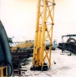 A broader view of the LPG hammer, West Palm Beach facility.