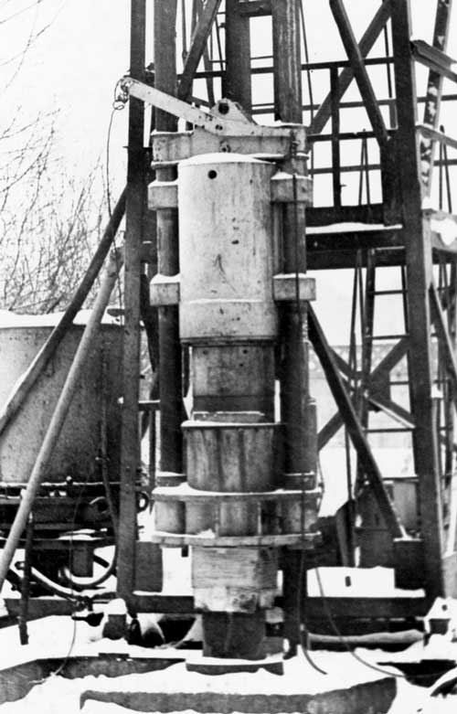 rod-type-diesel-hammer