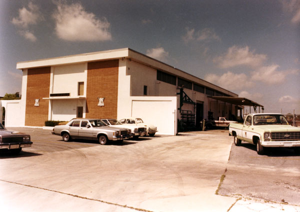 The facility in April 1984, shortly before it was closed and sold.