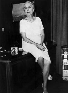 Myrtle D. Warrington, Henry's mother, who maintained a place in the company after her husband Chet's death in 1961.