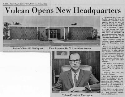 The 3 July 1966 article in the Palm Beach Post-Times about the Australian Ave.'s office opening