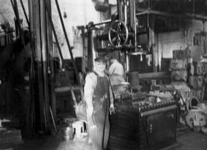 Some of Vulcan's machining capabilities--and the machinists that made them possible--at Vulcan's 327 North Bell Avenue facility.