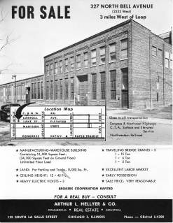 It's time to go: when Vulcan left for Chattanooga, the old shop went up for sale. This is the sales brochure for the facility.