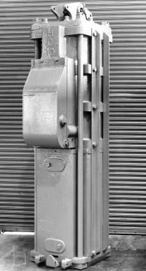 HC-10 Airmizer hammer, with a 10,000 lb. ram.