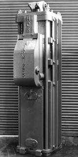 An angled view of the HC-8 hammer.