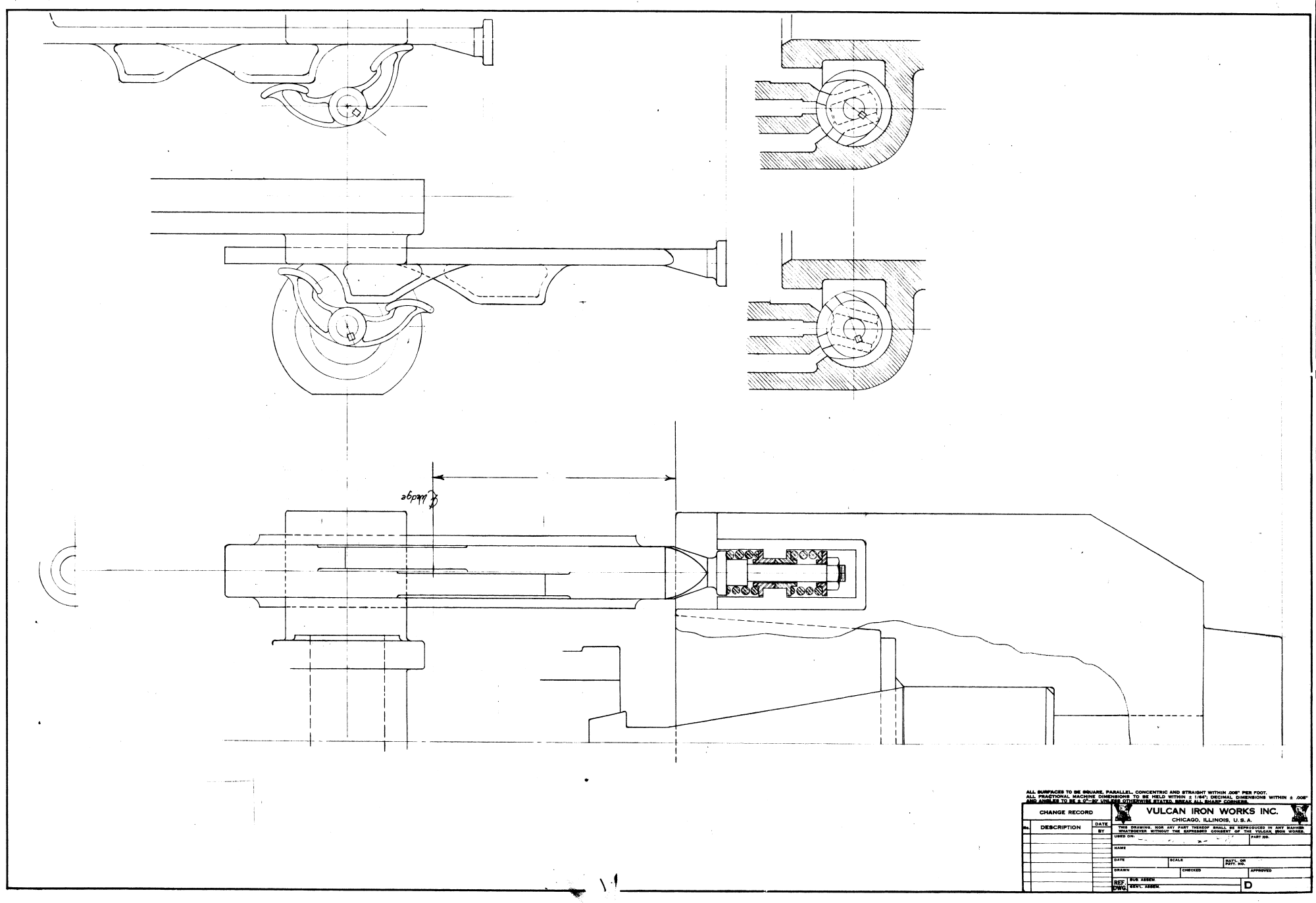 Compressible Flow Through Nozzles, and the Vulcan 06 Valve