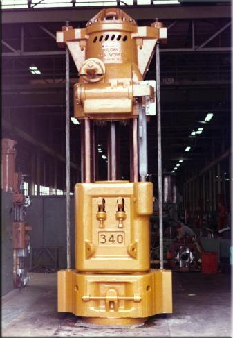 Vulcan 340 S/N GC-8245, shipped to McDermott in February 1973.